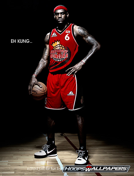 Lebron James to Ginebra Gin Kings