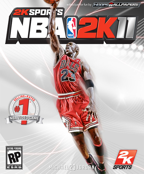 fake NBA 2k11 videogame cover