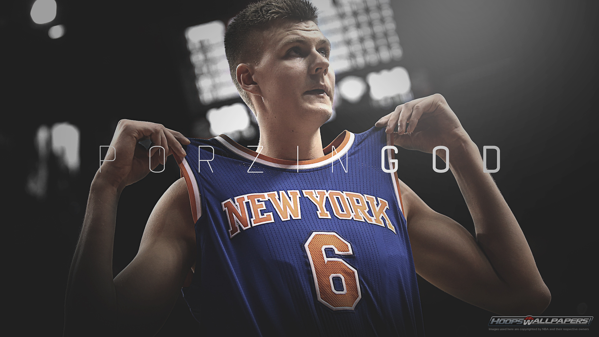 Hd wallpaper nba - Kristaps Porzingis Wallpaper