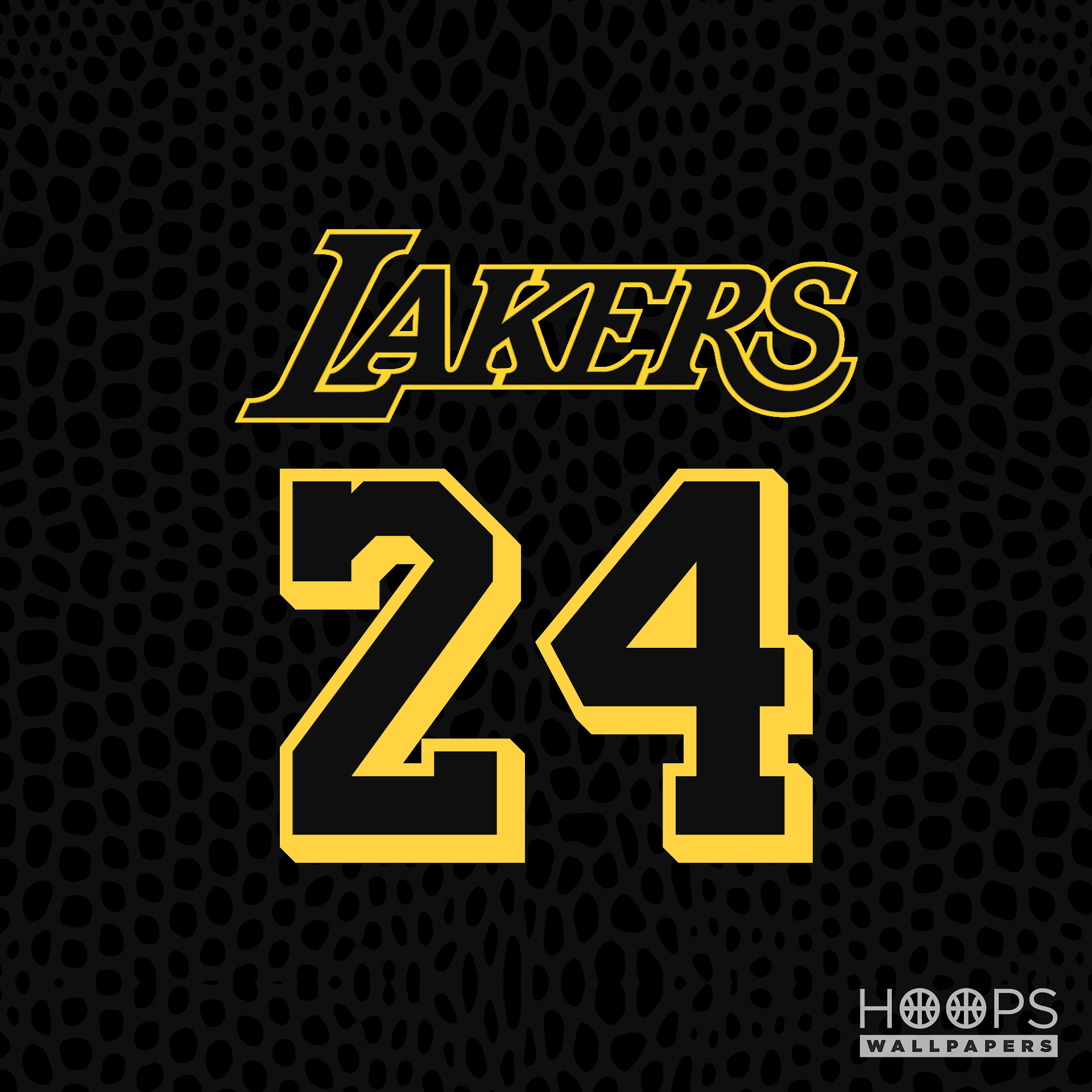 Lakers Black And White Wallpaper