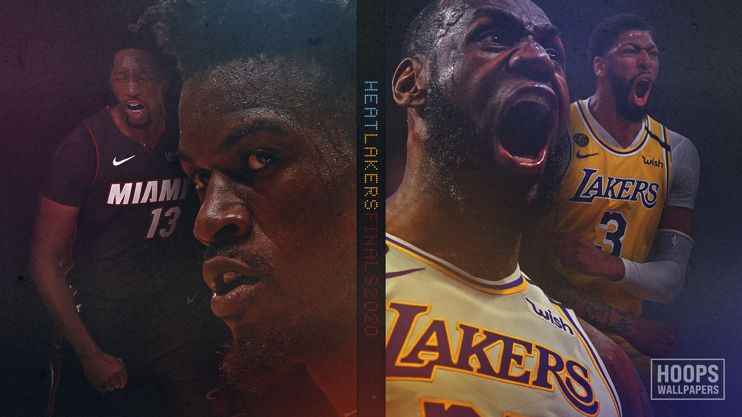 Hoopswallpapers Com Get The Latest Hd And Mobile Nba Wallpapers Today Blog Archive New 2020 Nba Finals Wallpaper Heat Vs Lakers