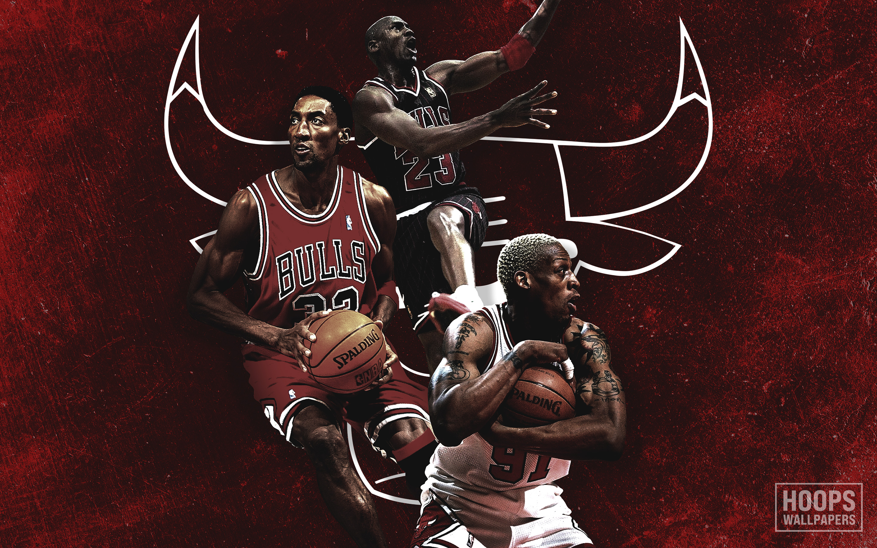 Hoopswallpapers Com Get The Latest Hd And Mobile Nba Wallpapers Today Blog Archive New Scottie Pippen Dennis Rodman And Michael Jordan Chicago Bulls Wallpaper
