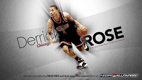 derrick rose wallpaper. Tags: Derrick Rose, NBA,