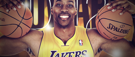 lakers dwight howard wallpaper
