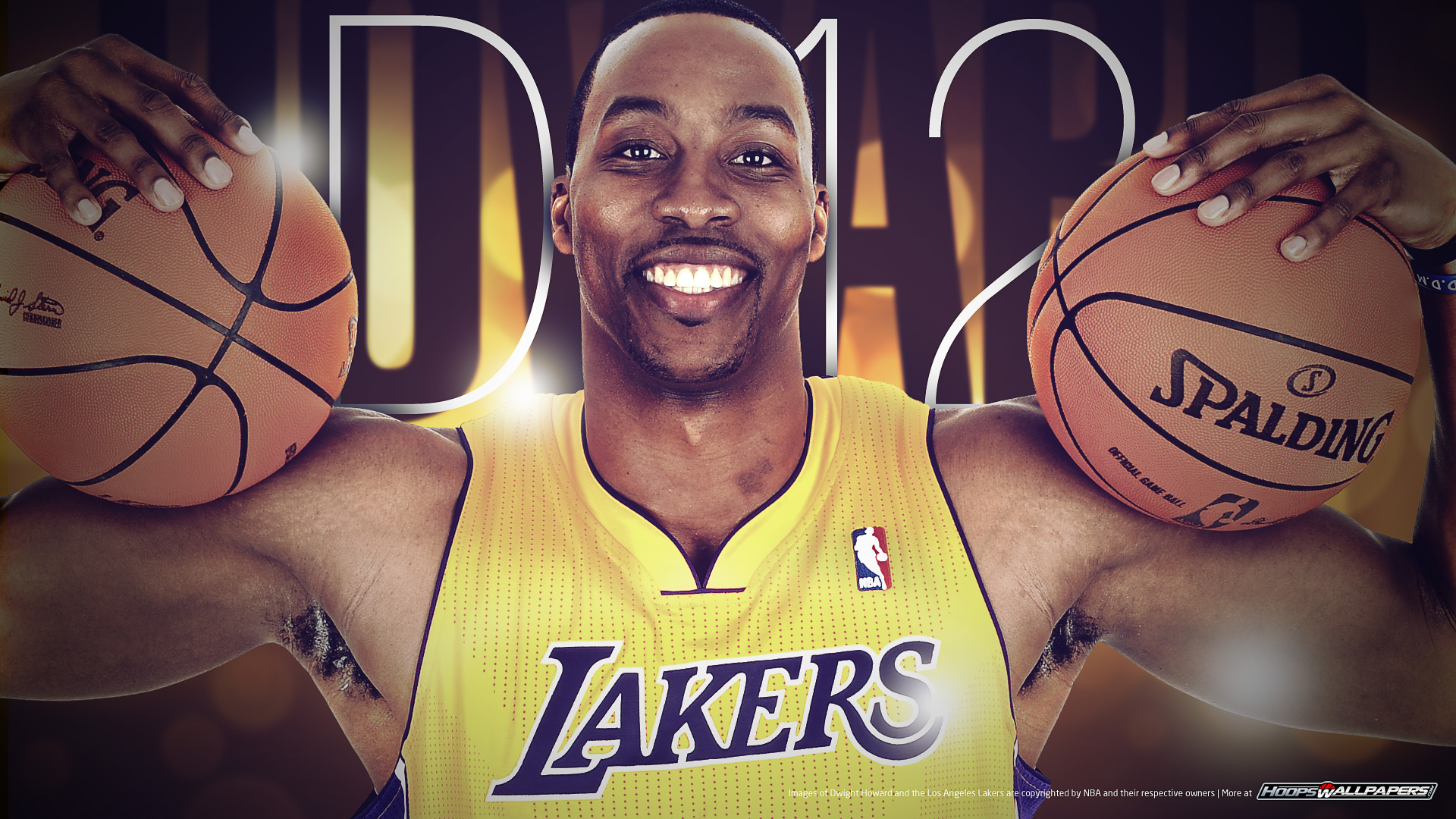 Dwight Howard – Los Angeles Lakers wallpaper (Click on the image for