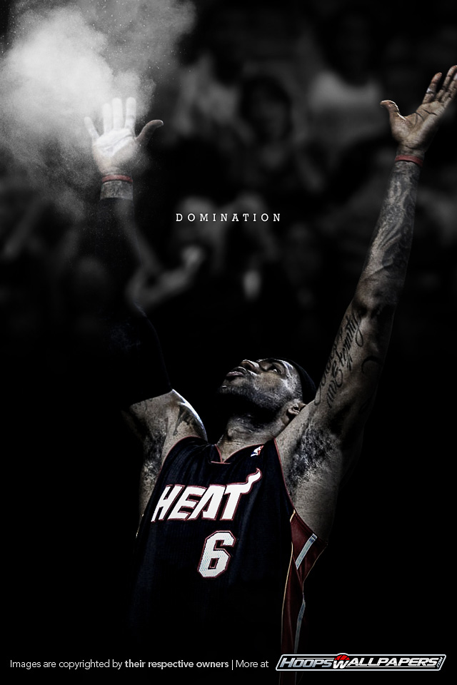 Get the late...Lebron James Wallpaper Heat Dunk