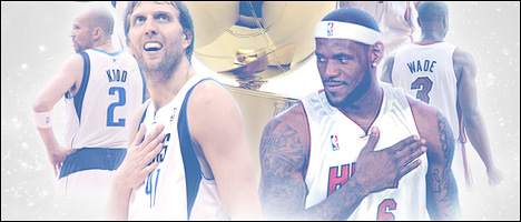 NBA Finals Miami Heat vs. Dallas Mavericks wallpaper