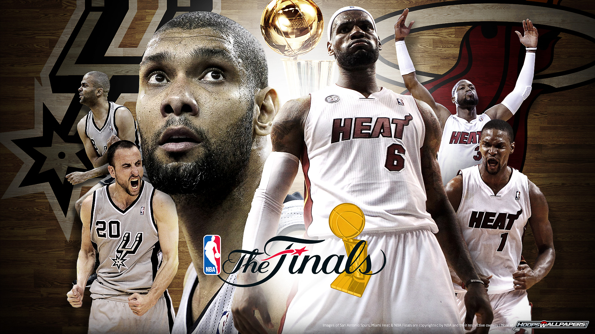 Hoopswallpapers get the latest hd and mobile nba wallpapers heat spurs wallpaper voltagebd Choice Image
